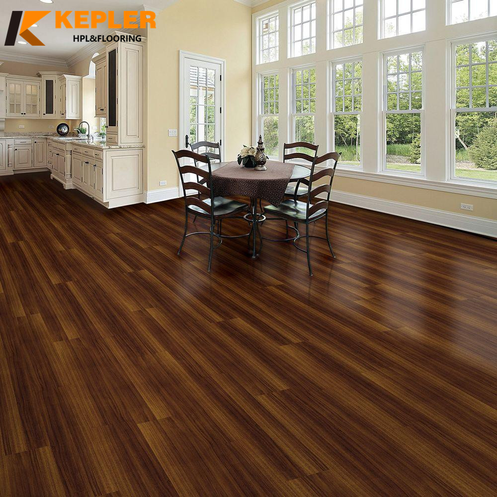 5mm wood grain loose lay vinyl plank flooring