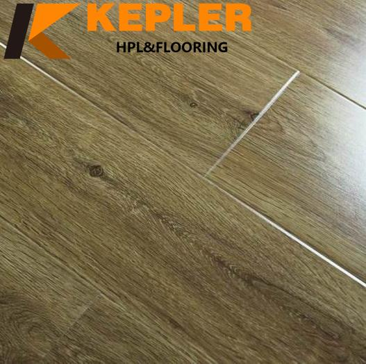 12mm glossy laminated wood floor