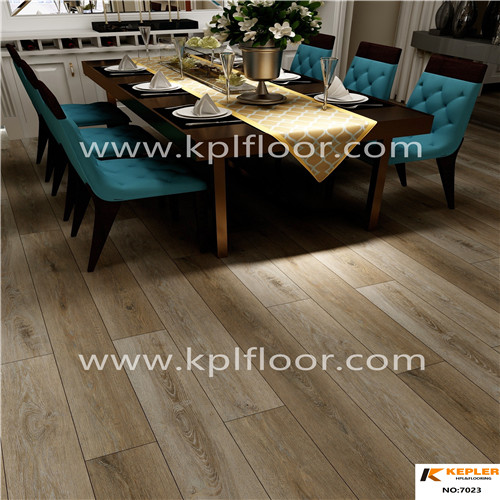 Good sale uv and transparent layer pvc flooring