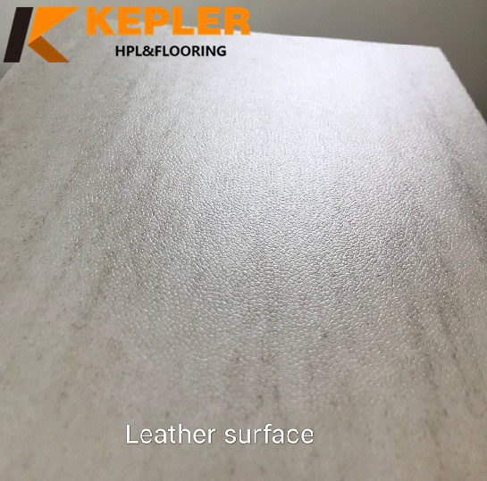 Leather Surface WPC Flooring