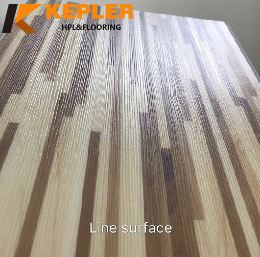 Line Surface WPC Flooring