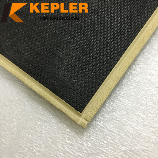Wood Composite Flooring(wpc) with ixpe foam and v-groove