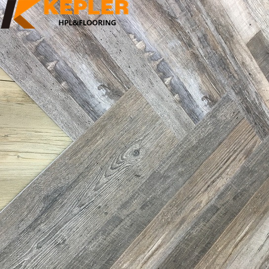 SPC Flooring Rigid Core Flooring Herringbone Design