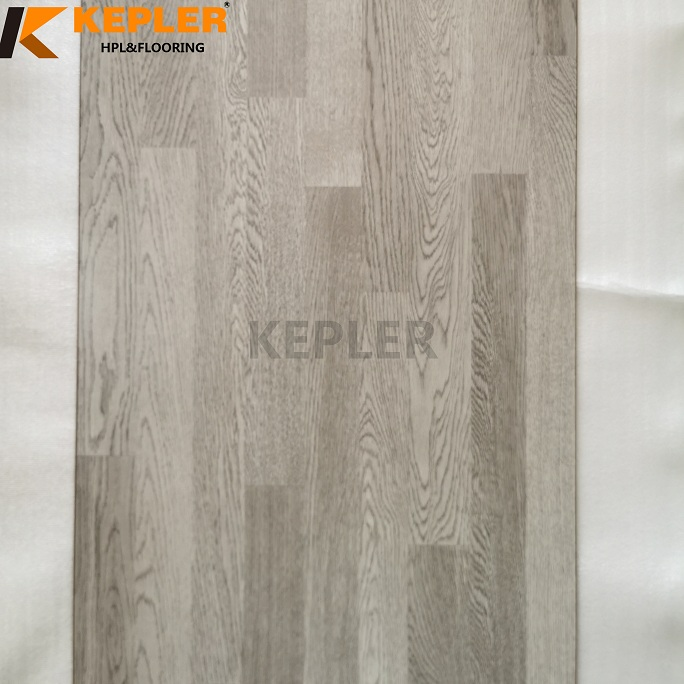 12mm HDF Crystal Surface Arc Click Waterproof Wood Laminated Flooring